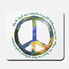 Peace Sign Mousepad