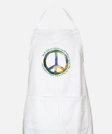 Peace Sign BBQ Apron