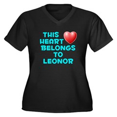 This Heart: Leonor (E) Women's Plus Size V-Neck Da