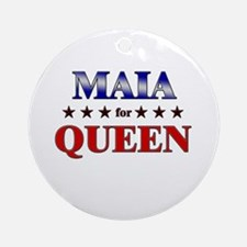 MAIA for queen Ornament (Round)