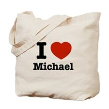 I love Michael Tote Bag