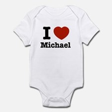 I love Michael Infant Bodysuit