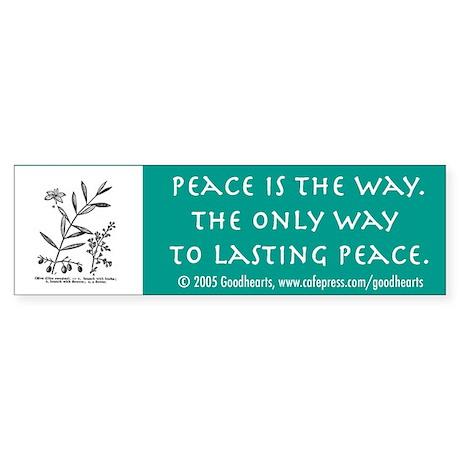 Pacifist Bumper Sticker