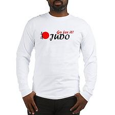 Long Sleeve Judo Throwing T-Shirt