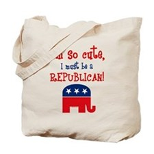 So Cute Republican Tote Bag