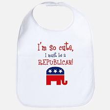 So Cute Republican Bib
