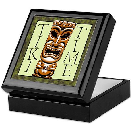 Tiki Time Keepsake Box
