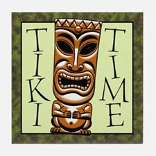 Tiki Time Tile Coaster