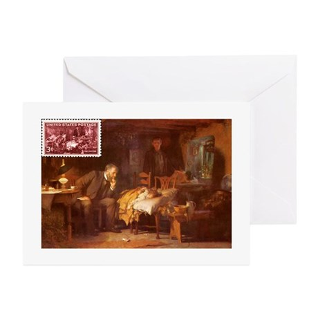 Doctor Stamp Greeting Cards (Pk of 10)