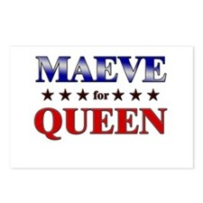 MAEVE for queen Postcards (Package of 8)