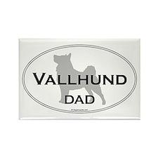 Vallhund Dad Rectangle Magnet