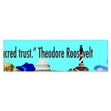 Teddy Roosevelt Panoramic Sticker 5th of 5