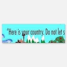 Teddy Roosevelt Panoramic Sticker 1st of 5