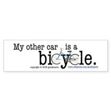 My Other Car Is a Bicycle Bumper Bumper Sticker