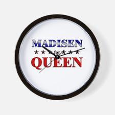 MADISEN for queen Wall Clock