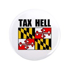 "TAX HELL 3.5"" Button"