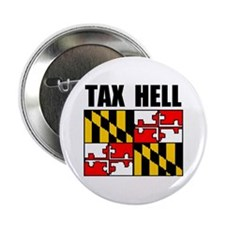 """TAX HELL 2.25"""" Button"""
