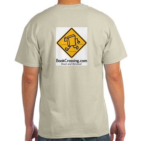 BookCrossing Grey T-Shirt