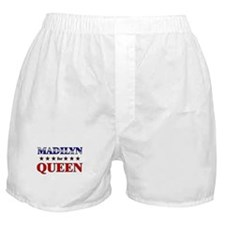 MADILYN for queen Boxer Shorts