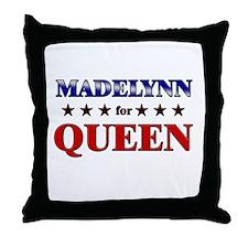 MADELYNN for queen Throw Pillow