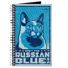 Russian Blue - Cat World Domination Journal