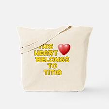 This Heart: Titia (D) Tote Bag