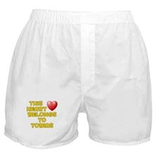 This Heart: Tobias (D) Boxer Shorts