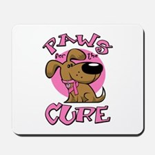 Paw for the Cure/Dog Mousepad