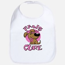 Paw for the Cure/Dog Bib