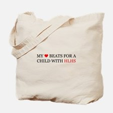 HLHS HEART Tote Bag