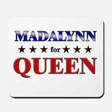 MADALYNN for queen Mousepad