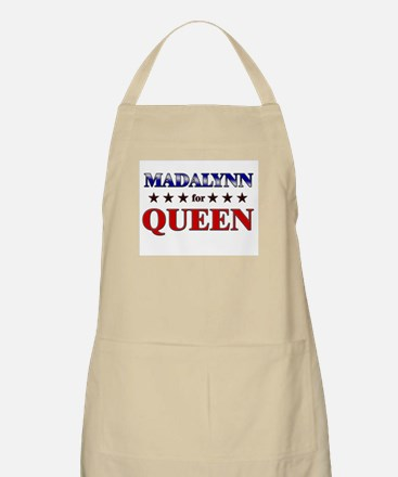 MADALYNN for queen BBQ Apron