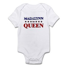 MADALYNN for queen Infant Bodysuit