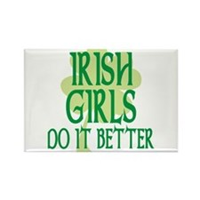 Irish Girls Do it Better Rectangle Magnet