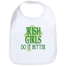 Irish Girls Do it Better Bib