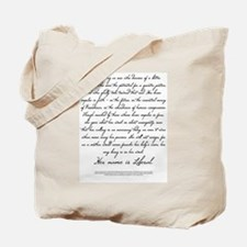 The Liberal Tote Bag