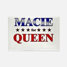 MACIE for queen Rectangle Magnet