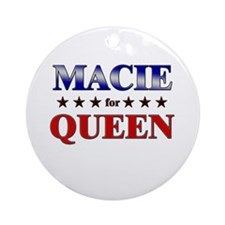 MACIE for queen Ornament (Round)
