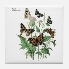 Butterfly 17 Tile Coaster