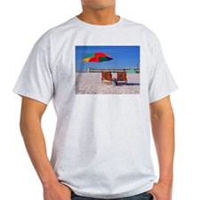 On The Beach Chairs T-Shirt