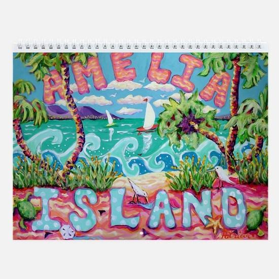 Amelia Island Wall Calendar