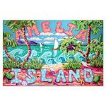 Amelia Island Large Poster