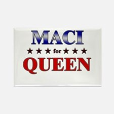MACI for queen Rectangle Magnet