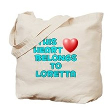 This Heart: Loretta (E) Tote Bag