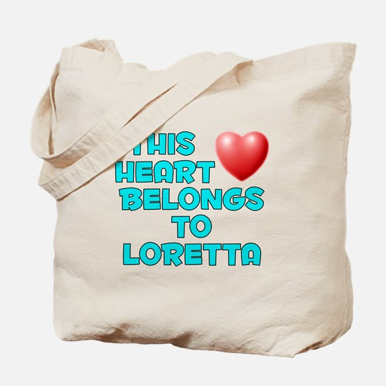 This Heart: Loretta (E) Tote Bag