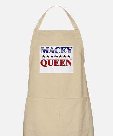 MACEY for queen BBQ Apron