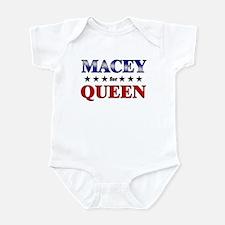 MACEY for queen Infant Bodysuit