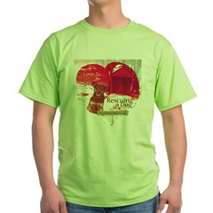 Love is...Rescuing a Dog T-Shirt