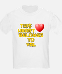 This Heart: Val (D) T-Shirt