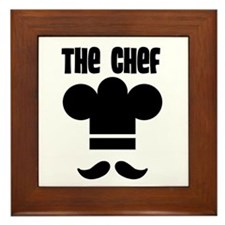 The Chef Framed Tile